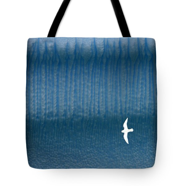 Icy Angel Tote Bag by Tony Beck