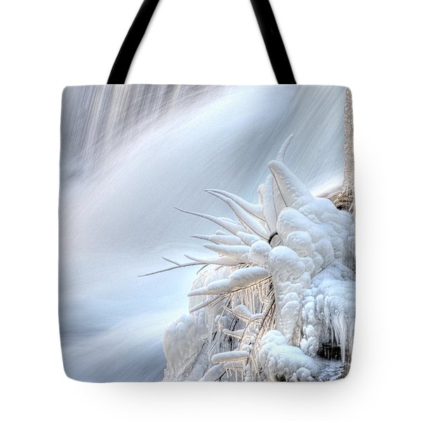 Icy Fingers Tote Bag by Wanda Krack