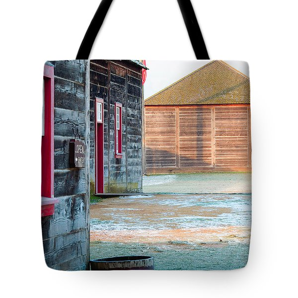 Icy Fort Tote Bag