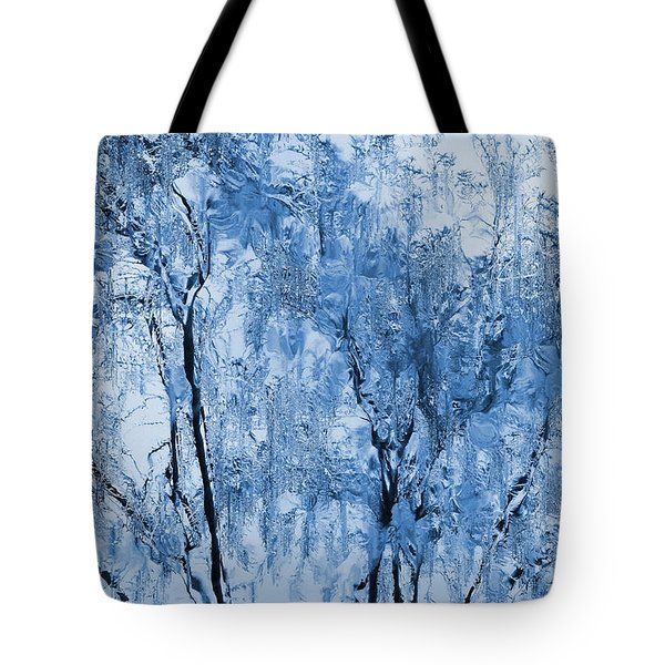 Icy Winter Tote Bag by Kume Bryant