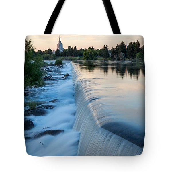 Idaho Falls Sunset Tote Bag