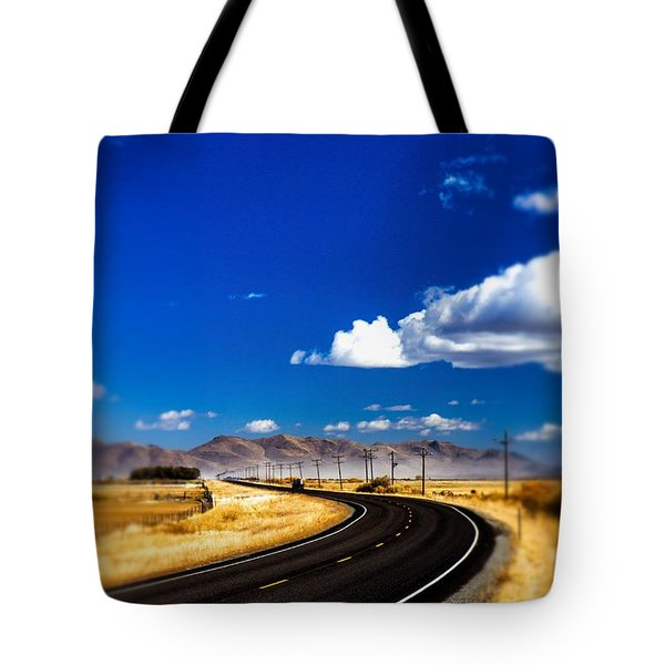 Idaho Road Titl Shift Tote Bag by For Ninety One Days
