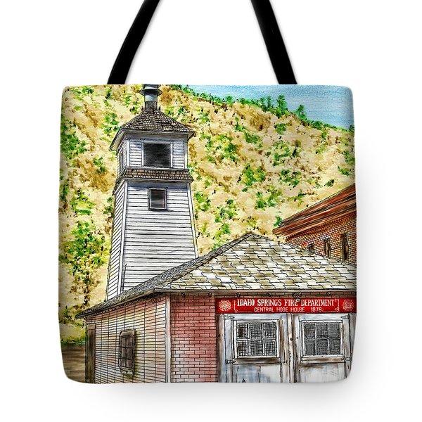 Idaho Springs Firehouse Tote Bag