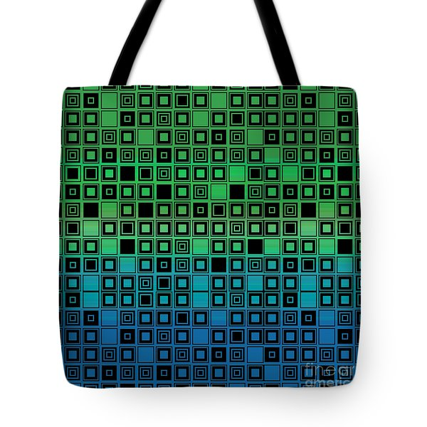 Identical Cells Tote Bag by Bedros Awak