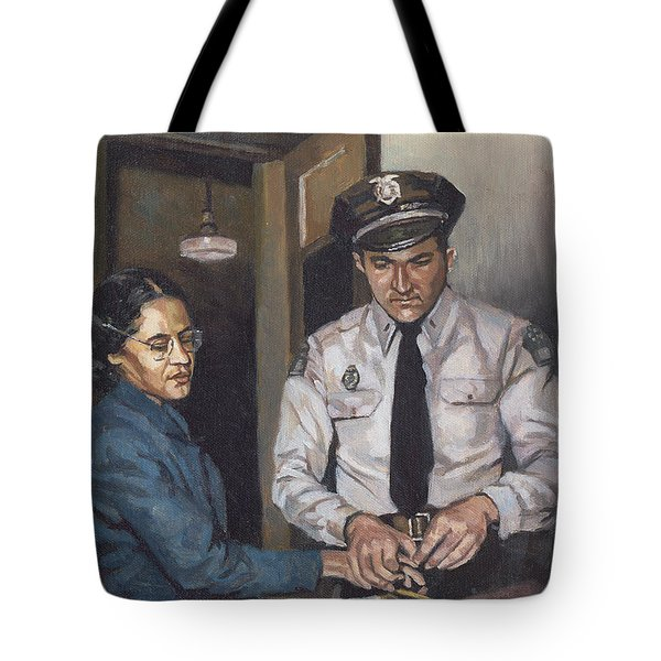 Identification Rosa Tote Bag by Colin Bootman