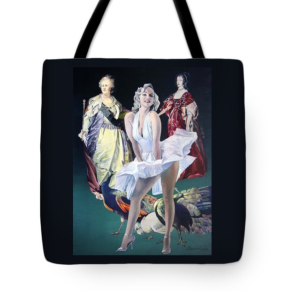 Idols And Fans... Tote Bag by Taidakov Nikolai