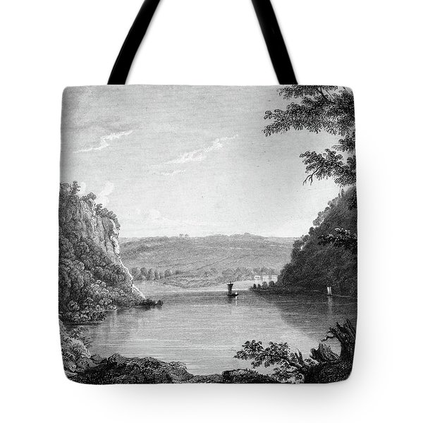 Idyllic Scenic Of Harpers Ferry West Tote Bag