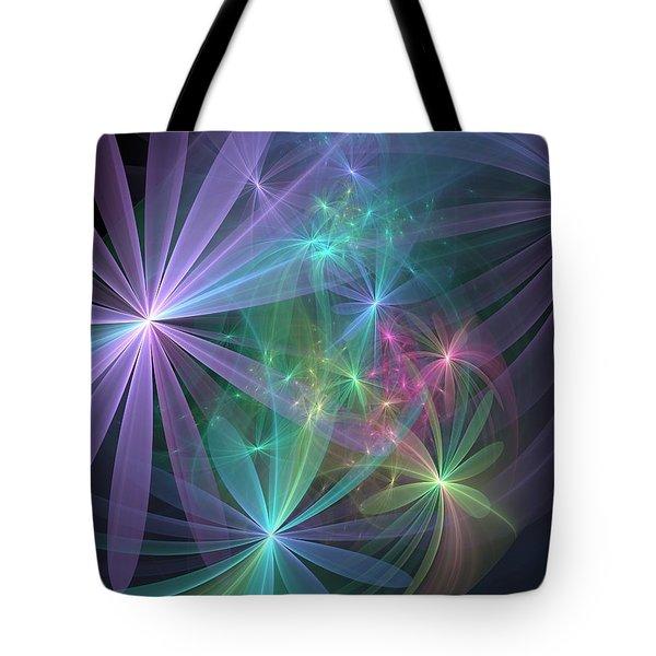 If Flowers Had Wings... Tote Bag