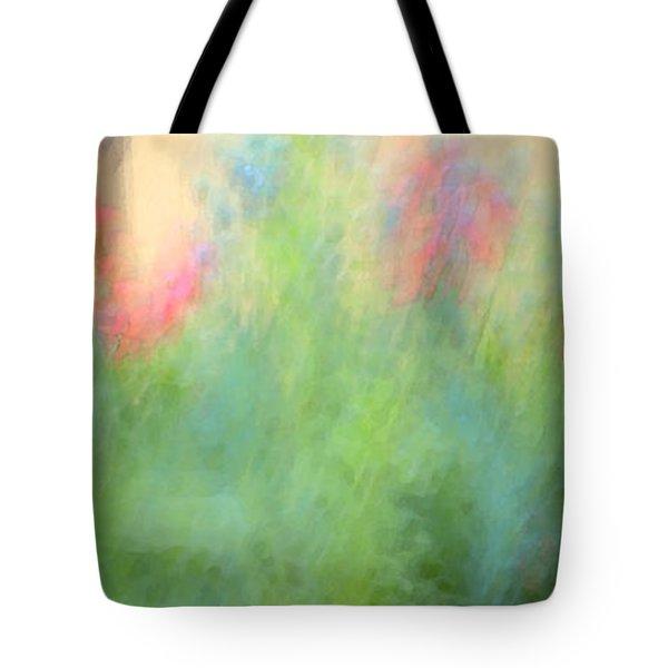 If My Front Yard Was Giverny Tote Bag by Theresa Tahara
