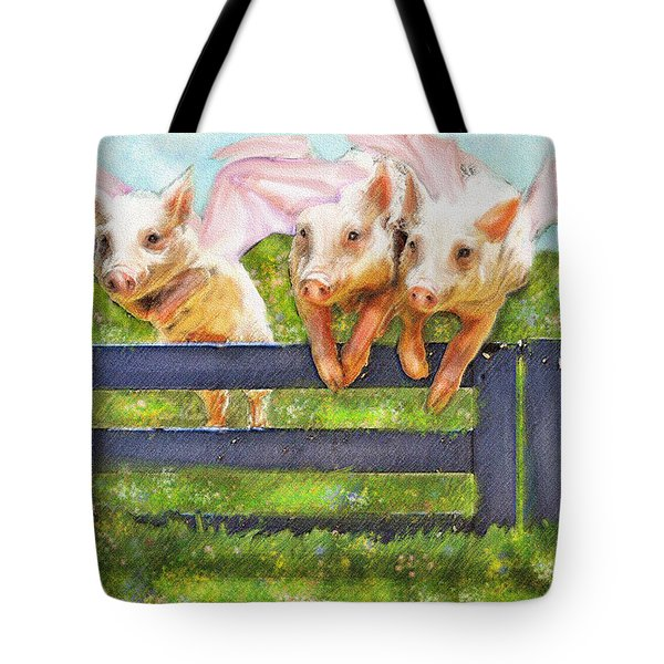 If Pigs Could Fly Tote Bag