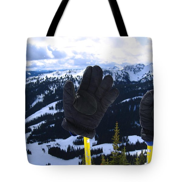 If The Glove Fits Tote Bag by Kym Backland