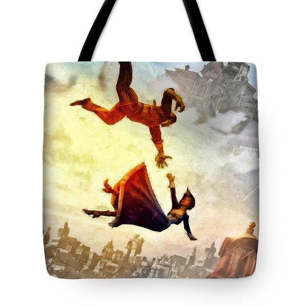 If You Fall Tote Bag