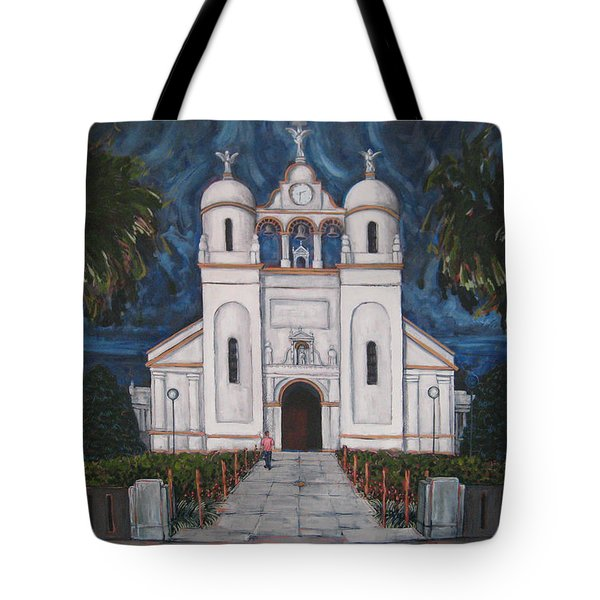 Iglesia Curridabat  Costa Rica Tote Bag