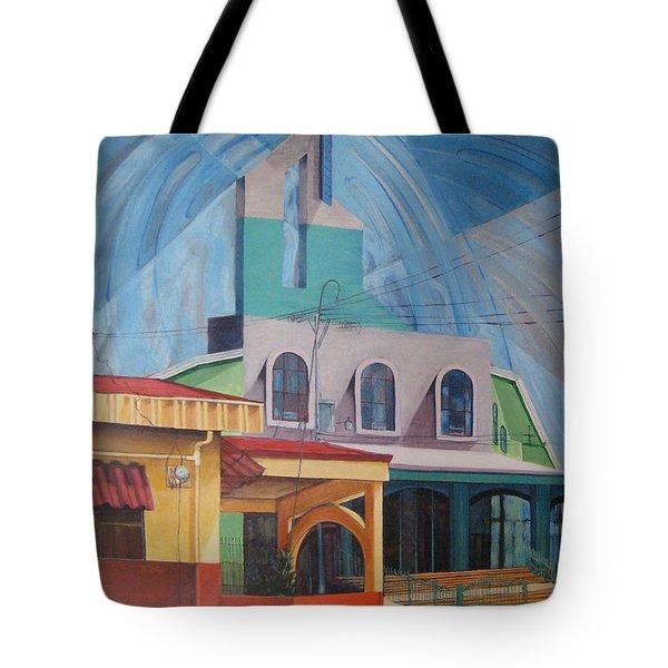 Iglesia San Rafael  Costa Rica Tote Bag