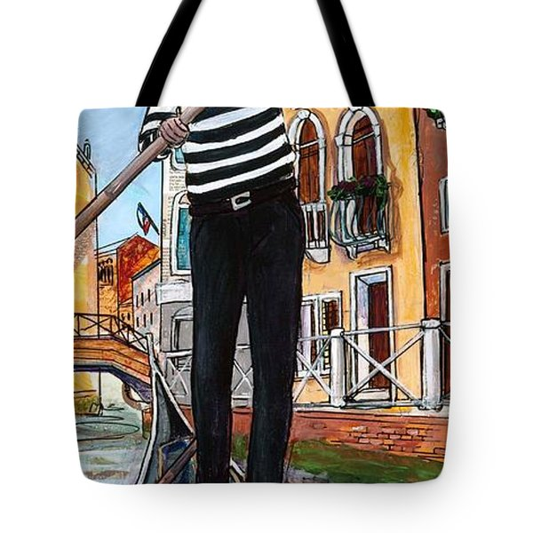 Tote Bag featuring the painting Igor by TM Gand