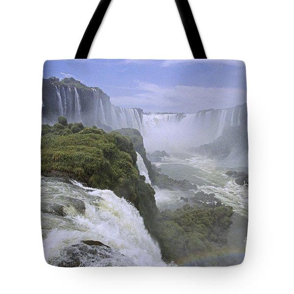 Iguazu Falls 1 Tote Bag by Rudi Prott