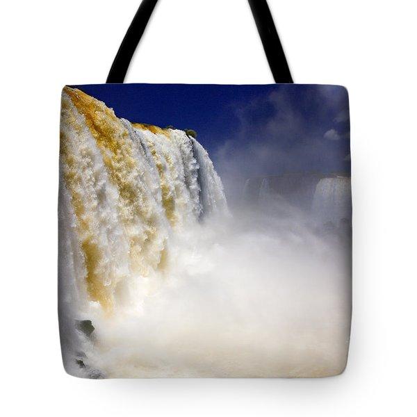 Iguazu Falls I Tote Bag by Bernardo Galmarini