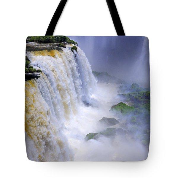 Iguazu Falls IIi Tote Bag by Bernardo Galmarini