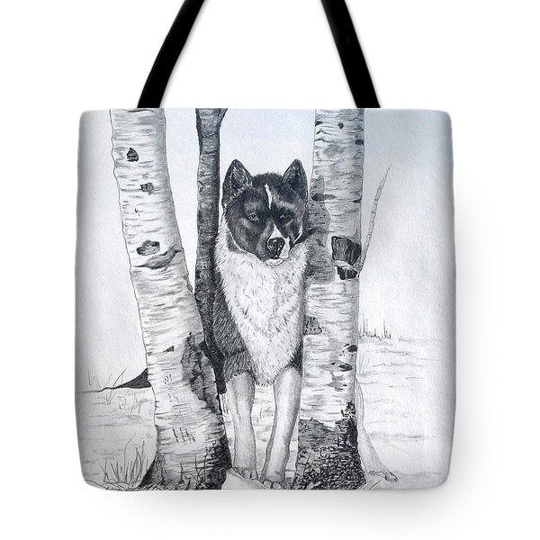 Ihasa In The Woods Tote Bag