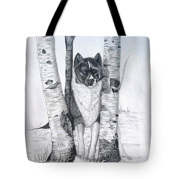 Ihasa In The Woods Tote Bag by Joette Snyder