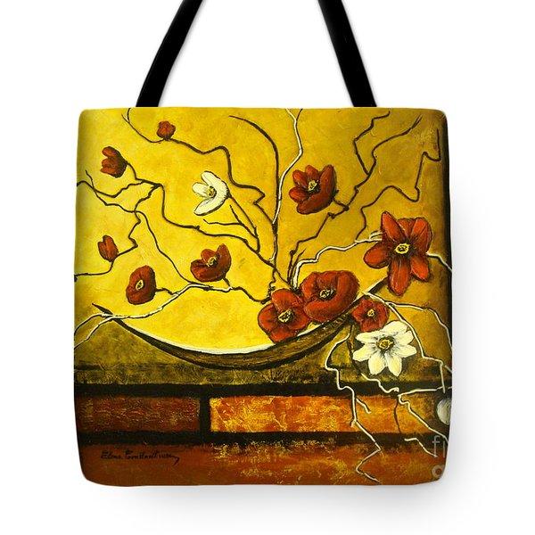 Ikebana II Tote Bag