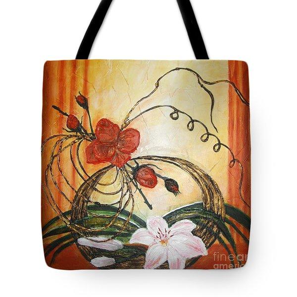 Ikebana IIi Tote Bag