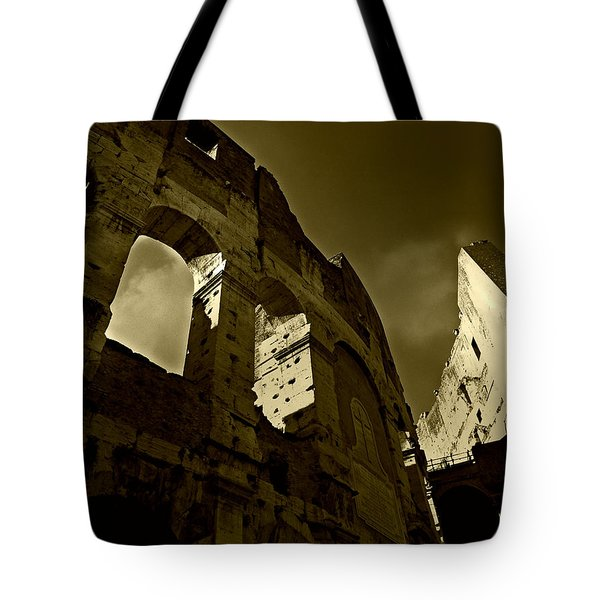 Il Colosseo Tote Bag by Micki Findlay