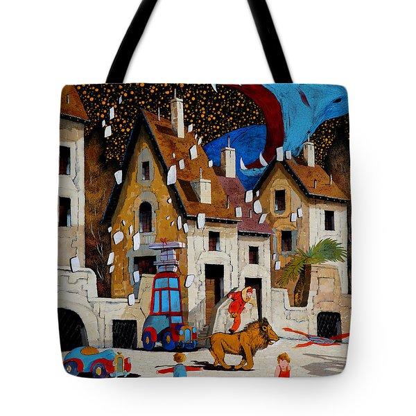 Il Drago Tote Bag by Guido Borelli