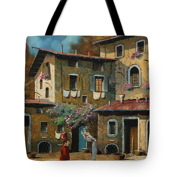 Il Notaio E Il Marinaio Tote Bag by Guido Borelli