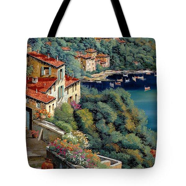 Il Promontorio Tote Bag by Guido Borelli