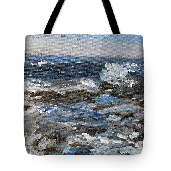 I'll Have A Water On The Rocks Please Tote Bag