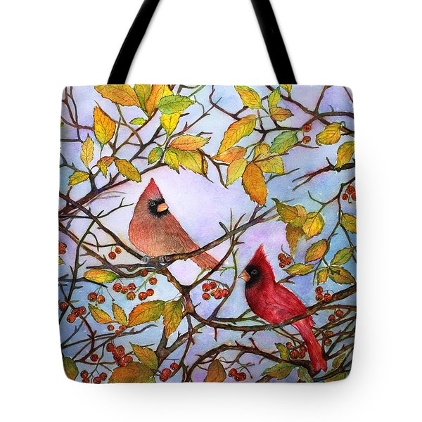 Illinois Cardinals  Tote Bag