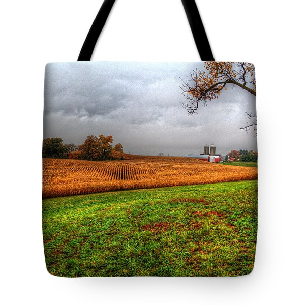 Illinois Farmland I Tote Bag