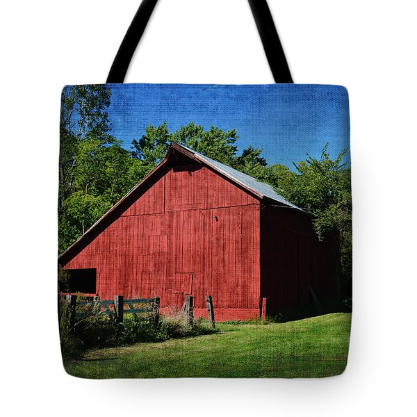 Illinois Red Barn 2 Tote Bag
