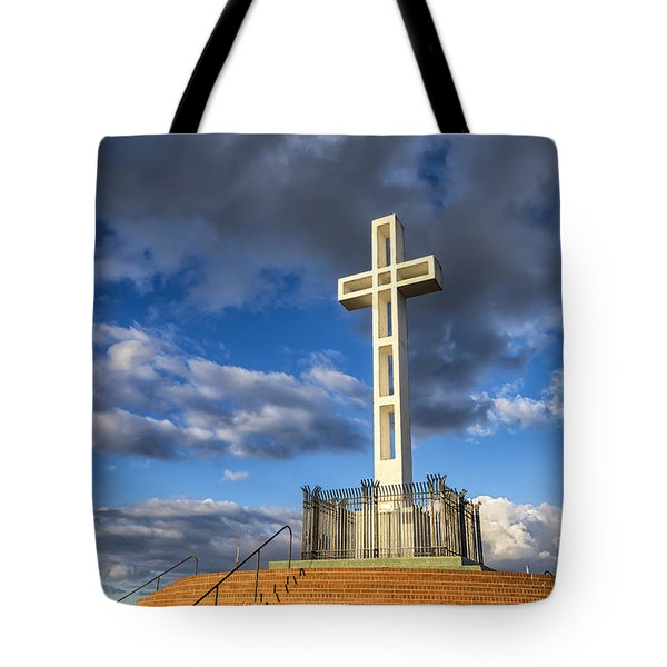 Illuminated Cross Tote Bag