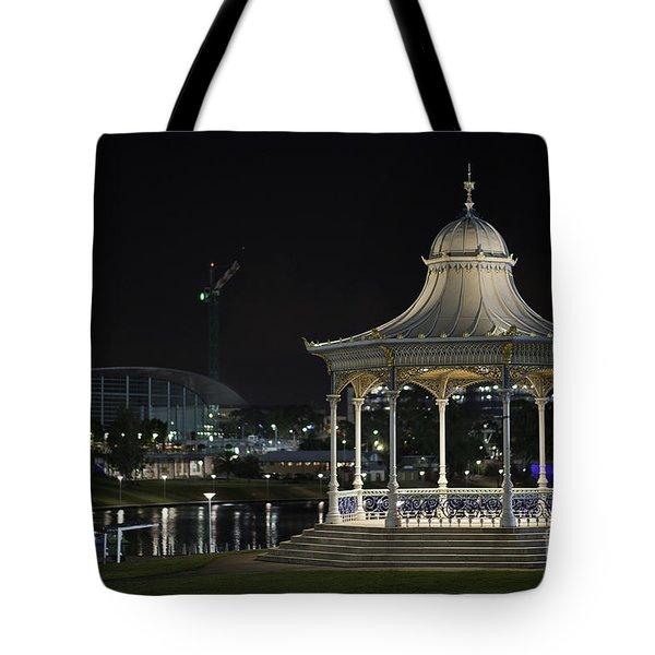 Illuminated Elegance Tote Bag