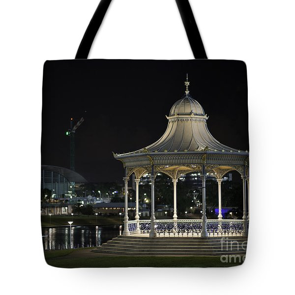 Illuminated Elegance Tote Bag