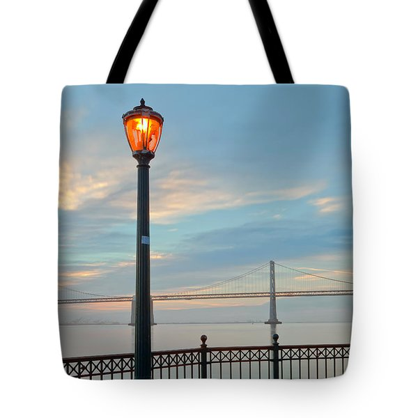 Tote Bag featuring the photograph Illumination by Jonathan Nguyen