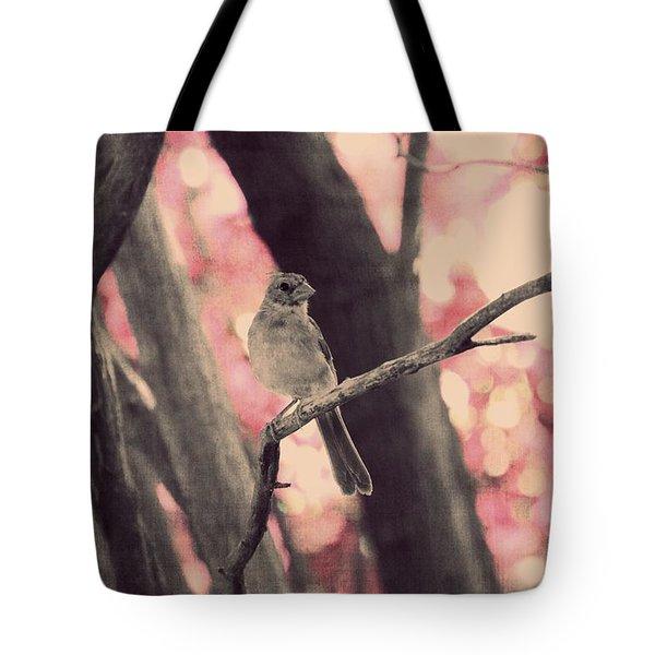 Illusion Of Spring Tote Bag