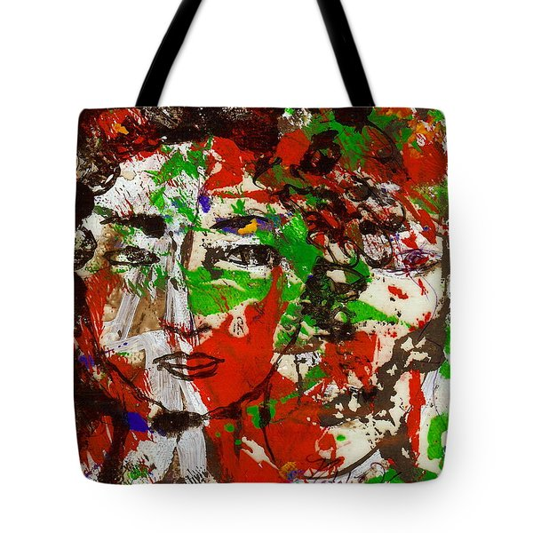 Illusions Tote Bag by Natalie Holland