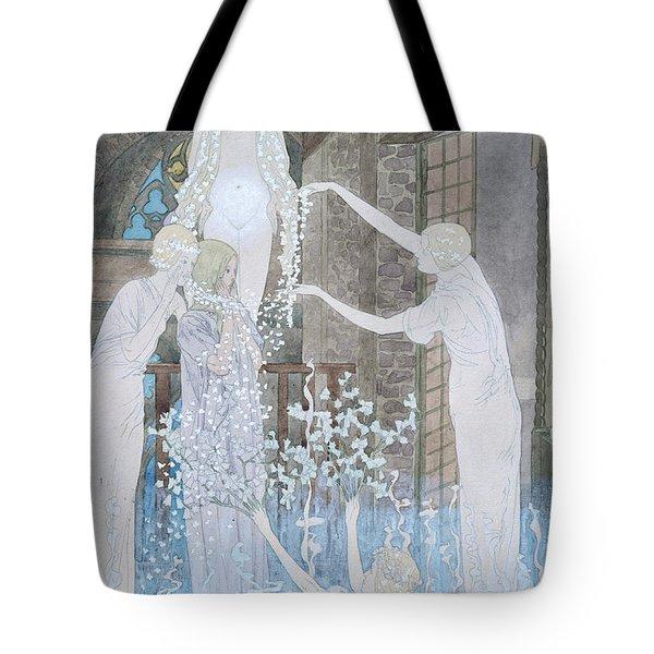 Illustation From Le Reve Tote Bag