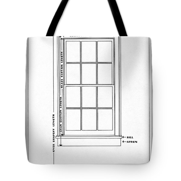 Illustration Of A Window Tote Bag