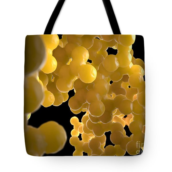 Illustration Of Human Dna Tote Bag by David Marchal