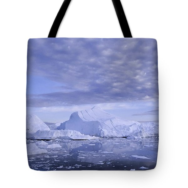 Tote Bag featuring the photograph Ilulissat Icefjord Greenland by Rudi Prott