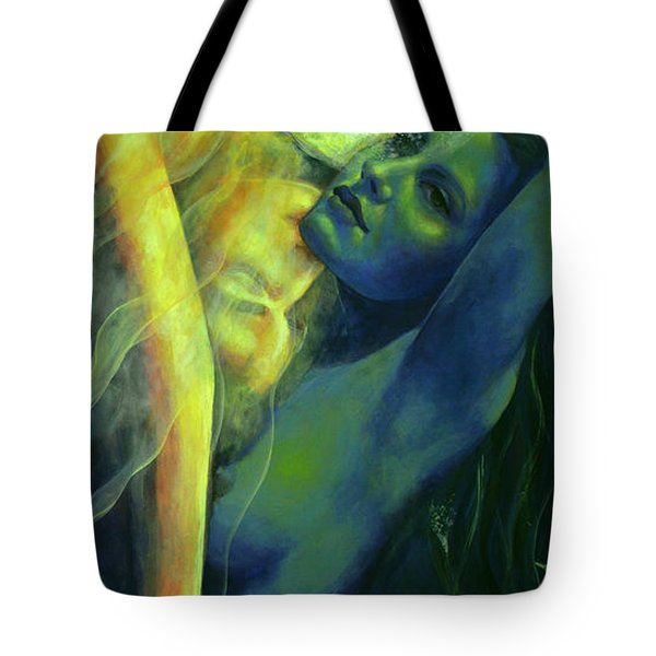 Ilussion In The Mirror Tote Bag by Dorina  Costras