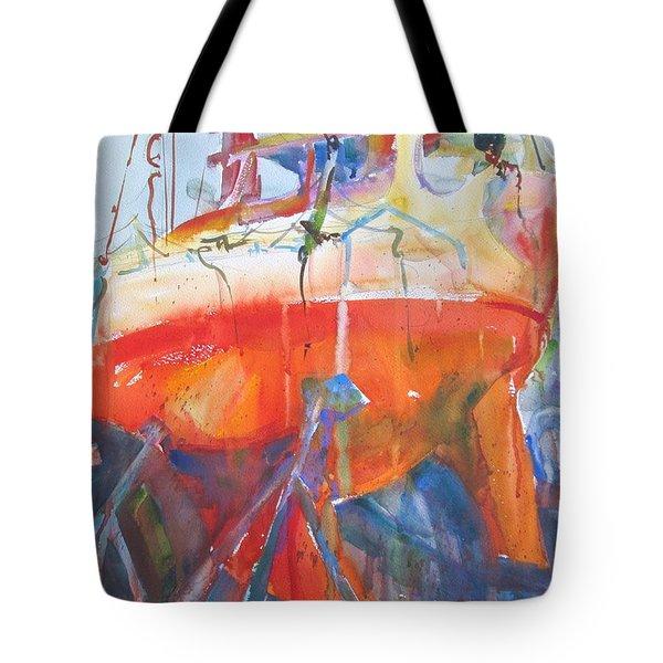 Ilwaco Orange Tote Bag