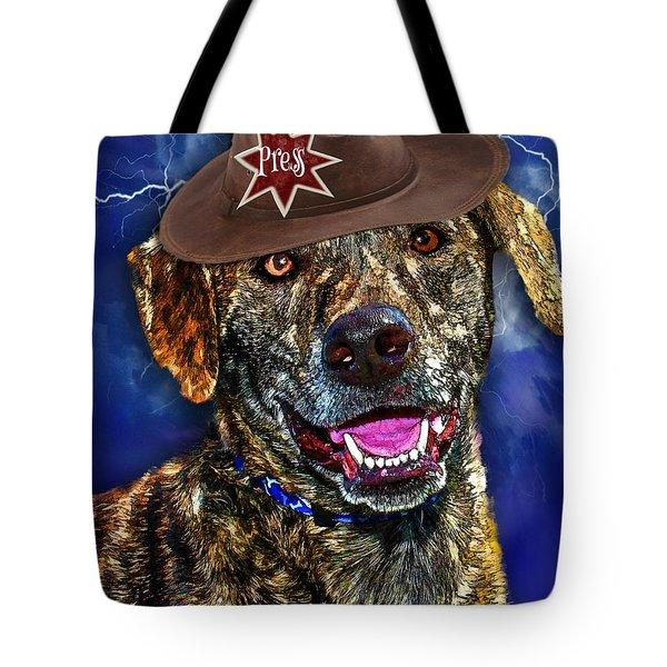 I'm A Canine Community Reporter Tote Bag