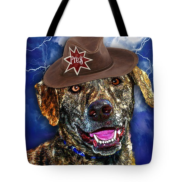 I'm A Canine Community Reporter Tote Bag