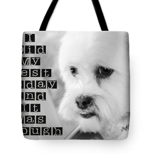 I'm Enough Tote Bag