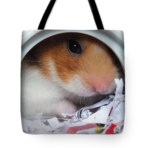 Tote Bag featuring the photograph I'm Keeping My Eye On You by Vicki Spindler